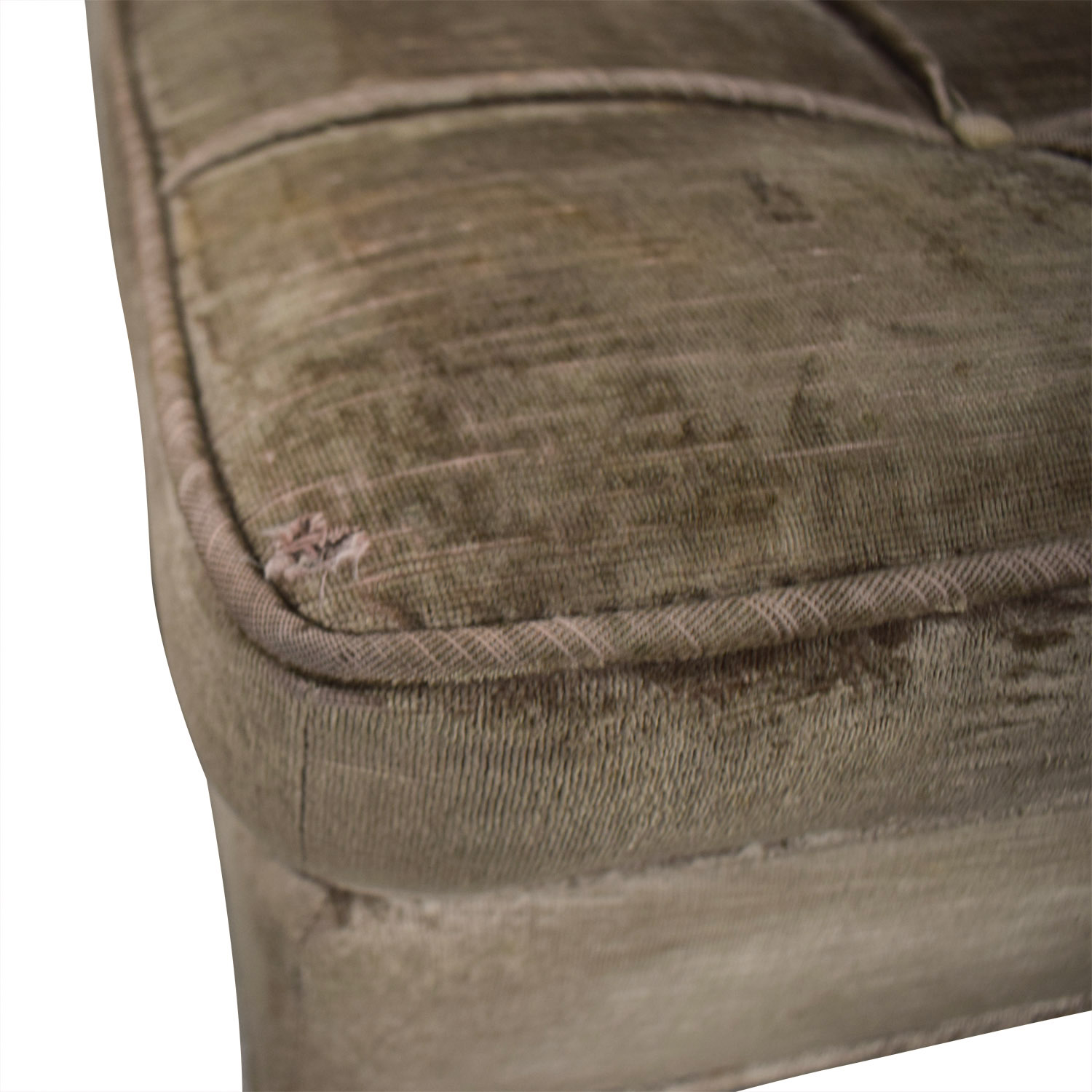 buy Knoll Beige Tufted Velvet Accent Chairs Knoll Chairs