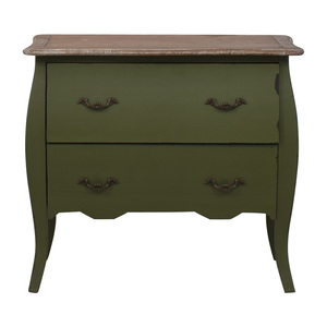 HomeGoods HomeGoods Green Two-Drawer Accent Table discount