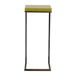 Green Embossed C-Table dimensions