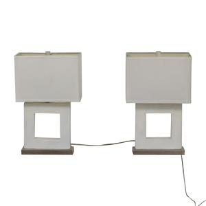 White Desk Lamps on sale