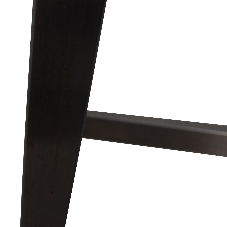 shop Black and Chrome Standing Desk