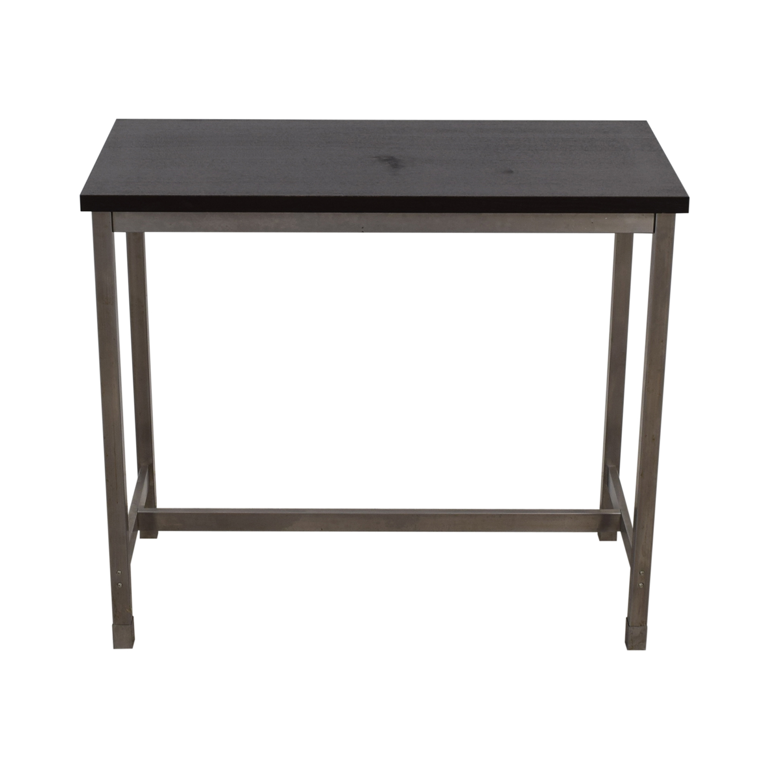 shop Black and Chrome Standing Desk