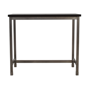 Black and Chrome Standing Desk discount
