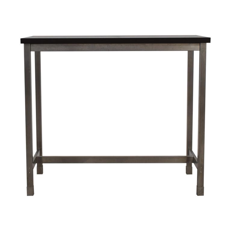 shop  Black and Chrome Standing Desk online