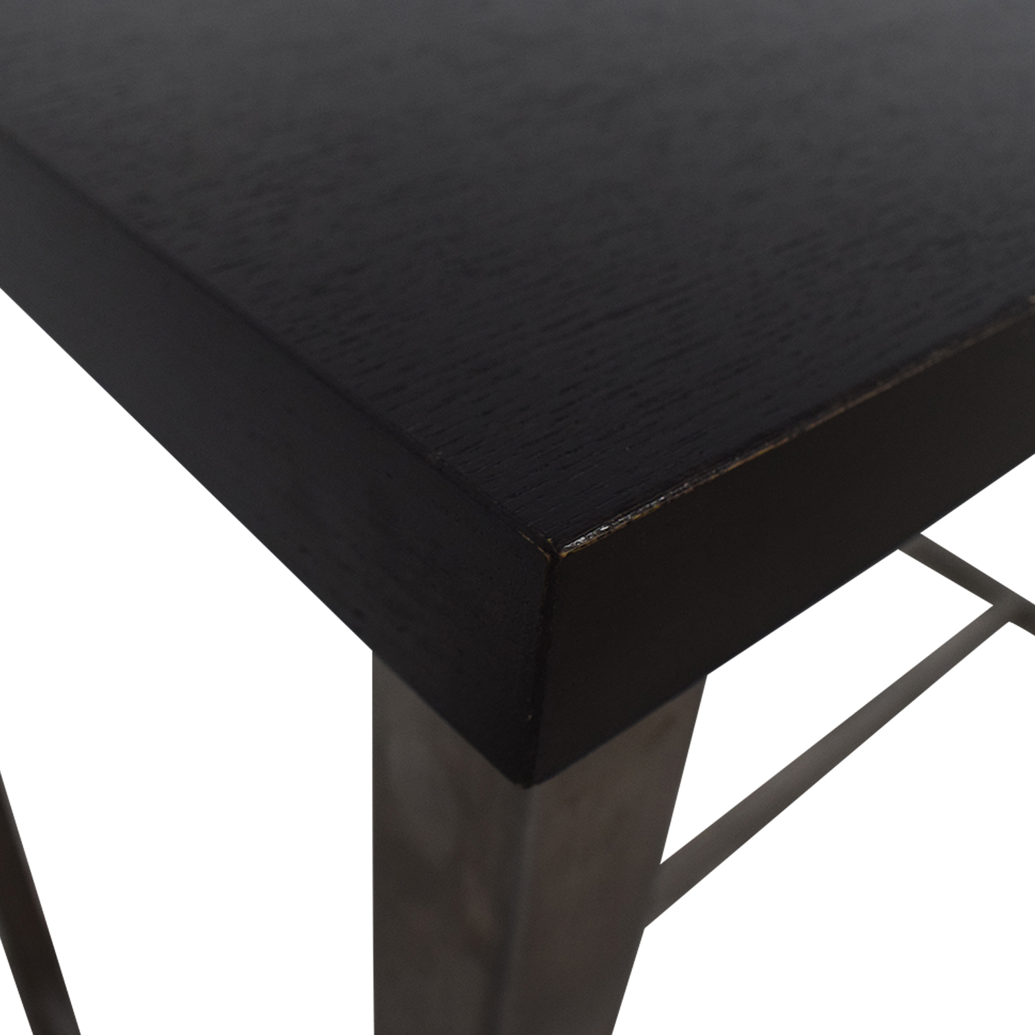buy Black and Chrome Standing Desk  Utility Tables