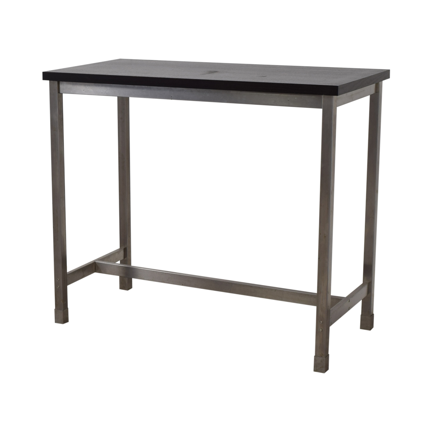Black and Chrome Standing Desk / Tables