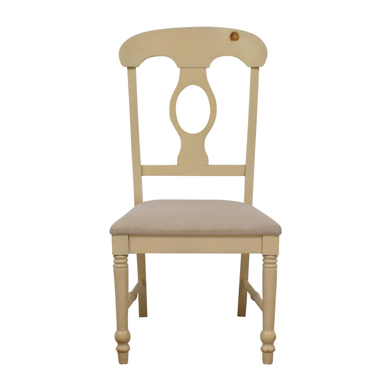 Broyhill Furniture Broyhill White Desk Chair on sale