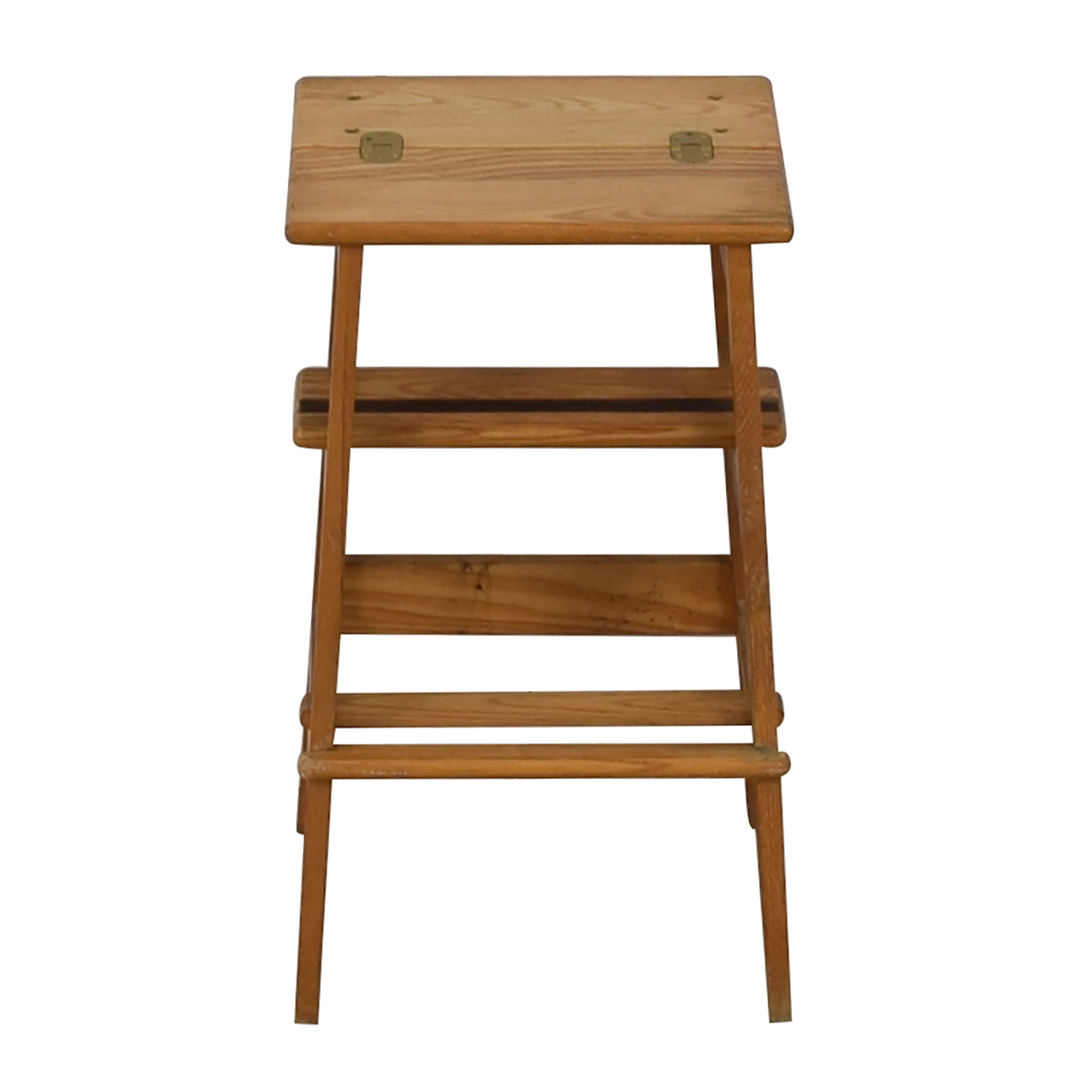 Two Step Wood Ladder Tables