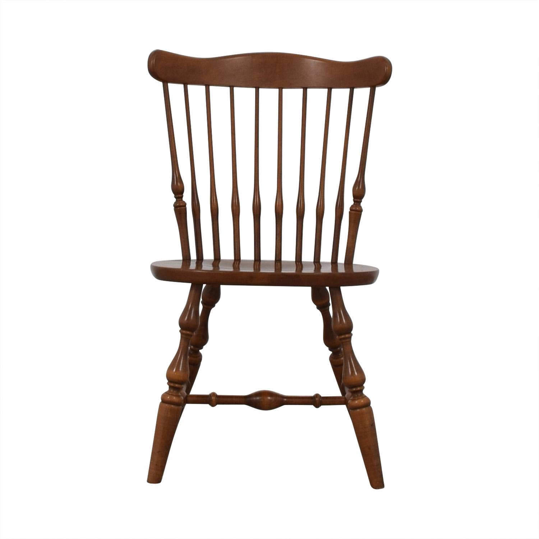 shop Ethan Allen Wood Chair Ethan Allen