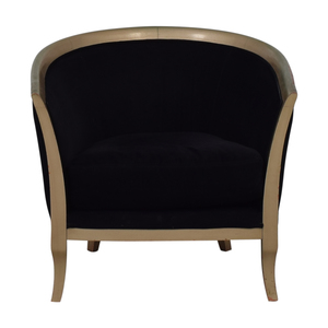 Black Deco Accent Chair nj