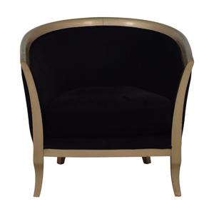 Black Deco Accent Chair nj