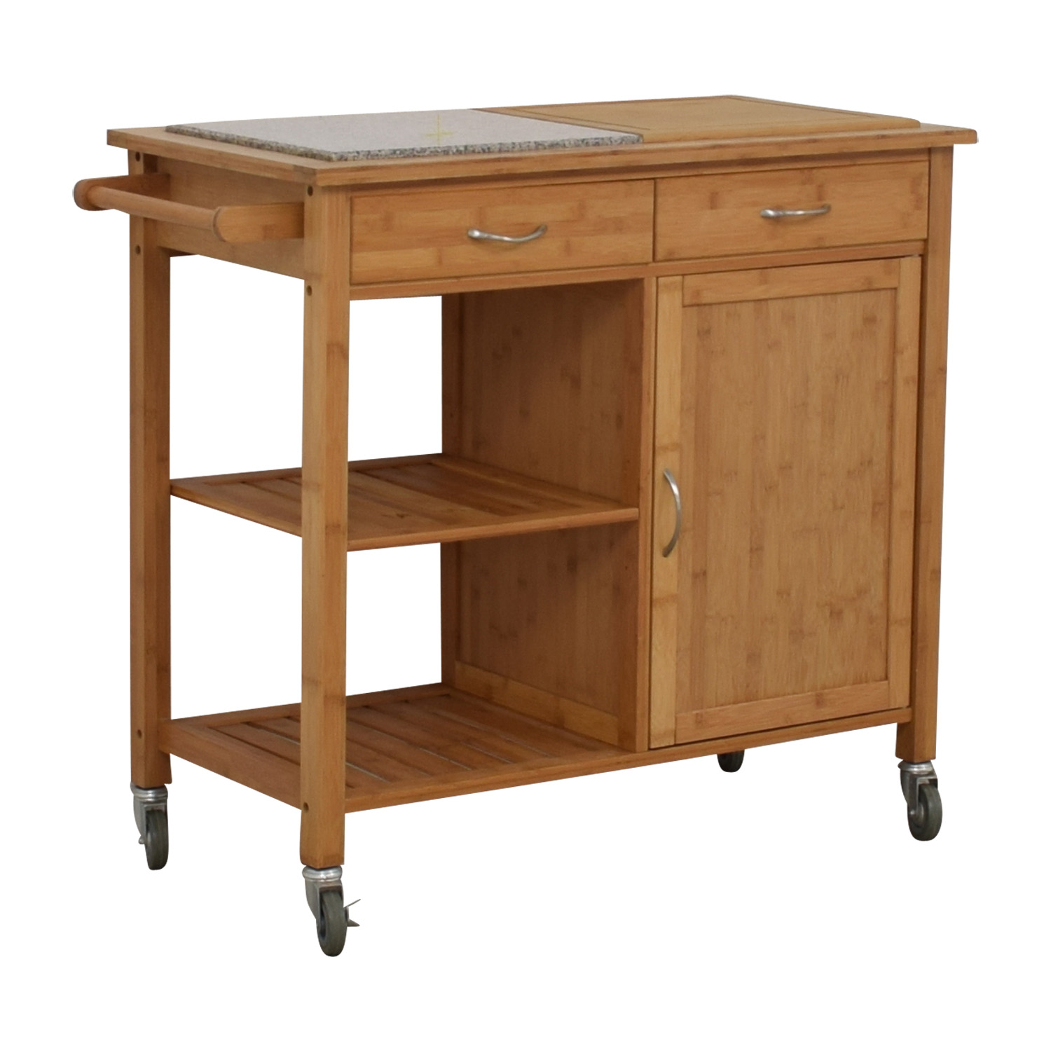 buy IKEA Natural Kitchen Island on Castors IKEA
