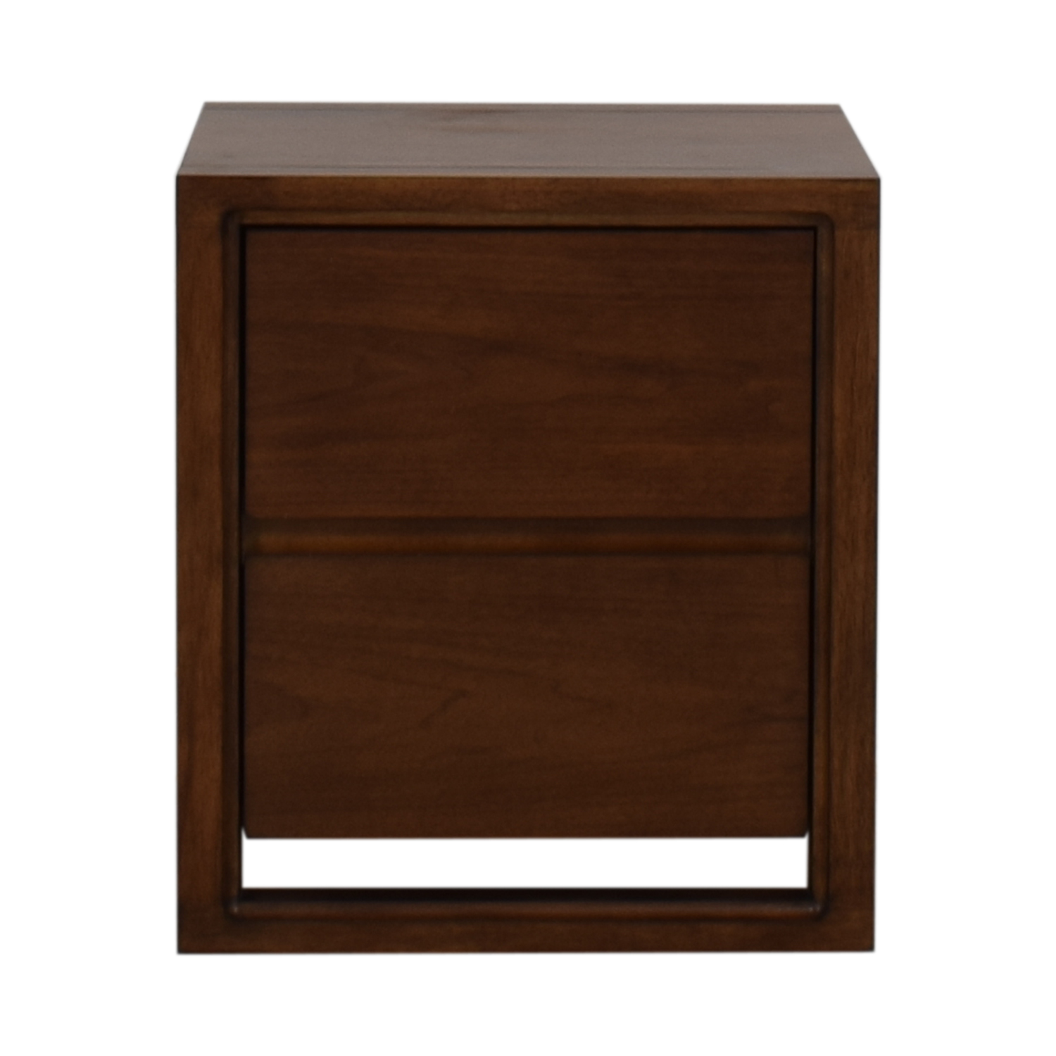 Raymour & Flanigan Raymour & Flanigan Aversa Two-Drawer End Table for sale
