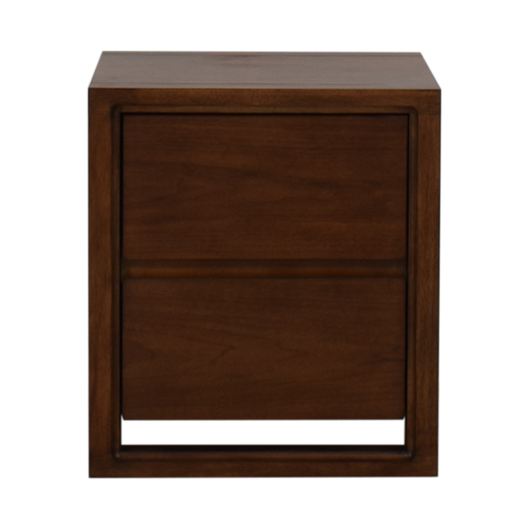 Raymour & Flanigan Aversa Two-Drawer End Table sale