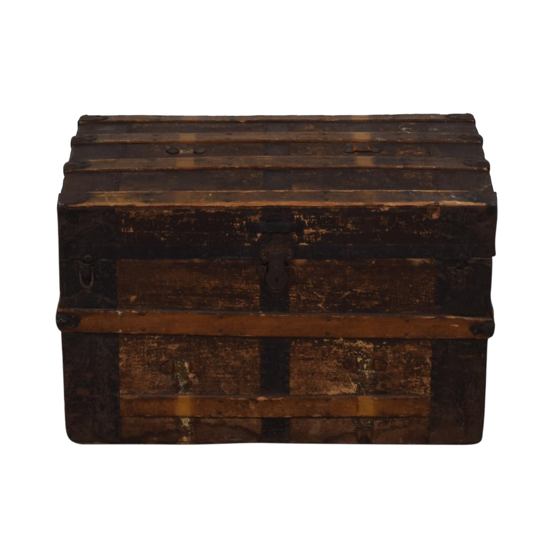 Decorative Antique Trunk Storage