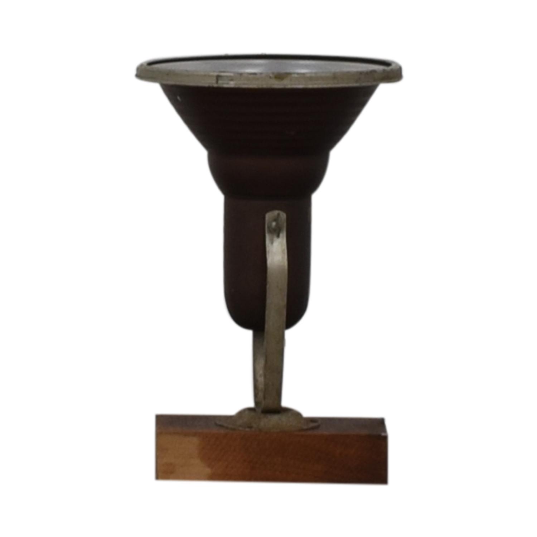 Chase Shawmut Company Antique Desktop Lamp Chase Shawmut Company