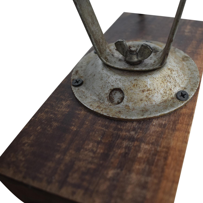 buy Chase Shawmut Company Chase Shawmut Company Antique Desktop Lamp online