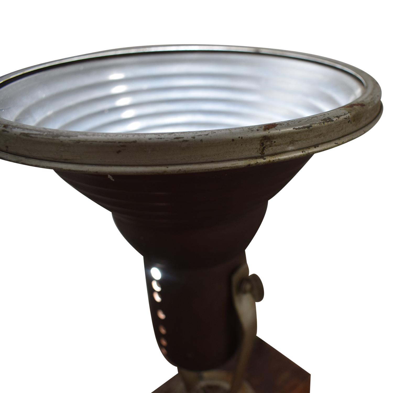 Chase Shawmut Company Chase Shawmut Company Antique Desktop Lamp for sale