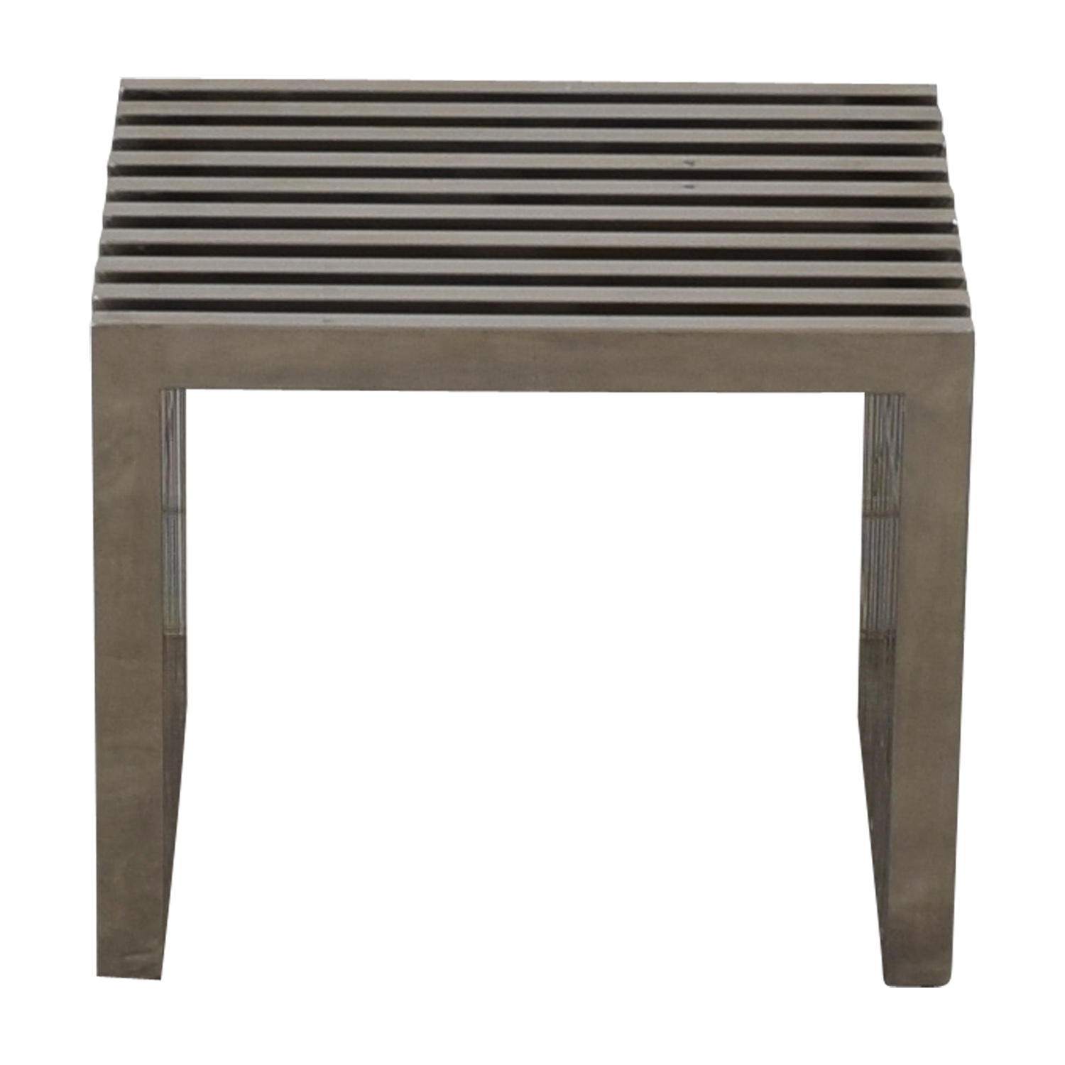 Mid-Century Metal Bench or End Table dimensions