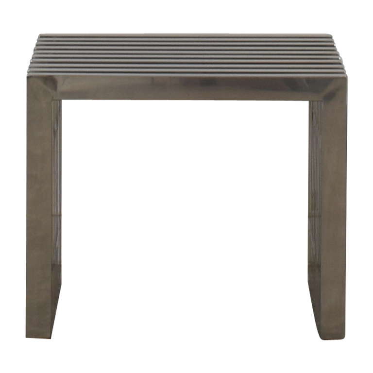 buy Mid-Century Metal Bench or End Table  Chairs