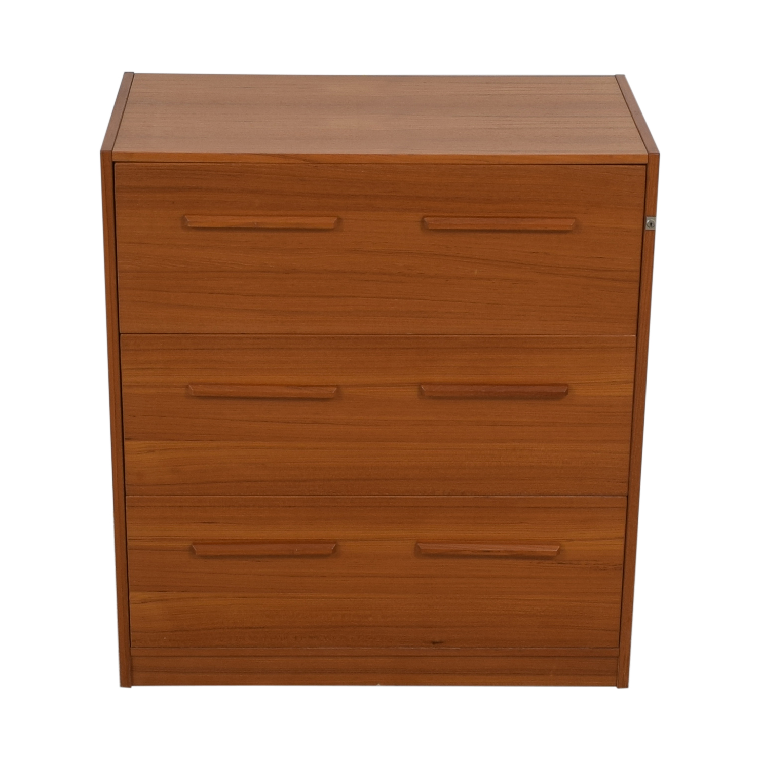 buy  Danish Three-Drawer File Cabinet online