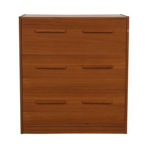 Danish Three-Drawer File Cabinet price