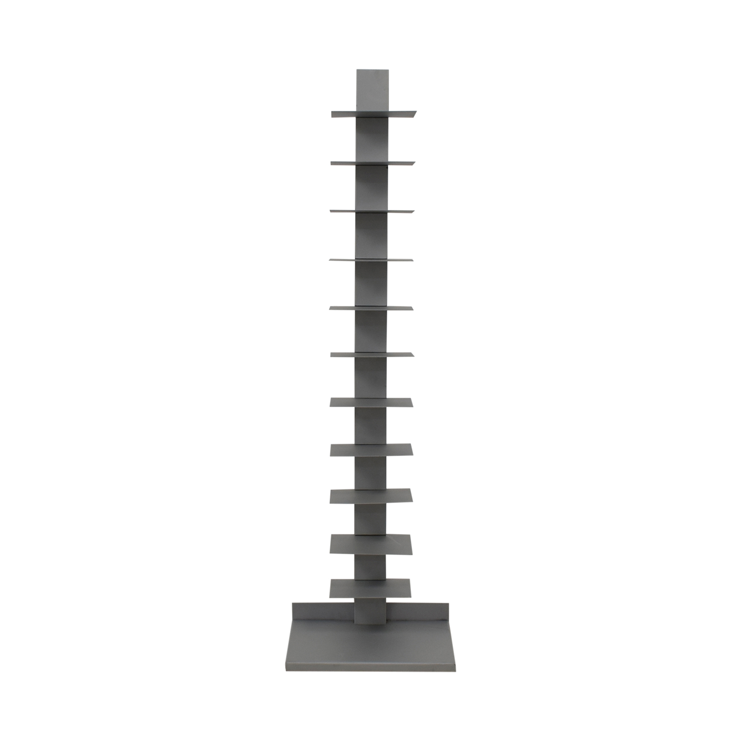 Vertical Grey Metal Bookcase price