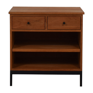 Room & Board Room & Board Double Drawer End Table nyc