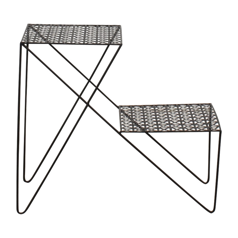 buy Urban Outfitters Black Metal End Table Urban Outfitters