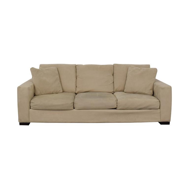 Room & Board Room & Board Metro Creme Three-Cushion Sofa coupon
