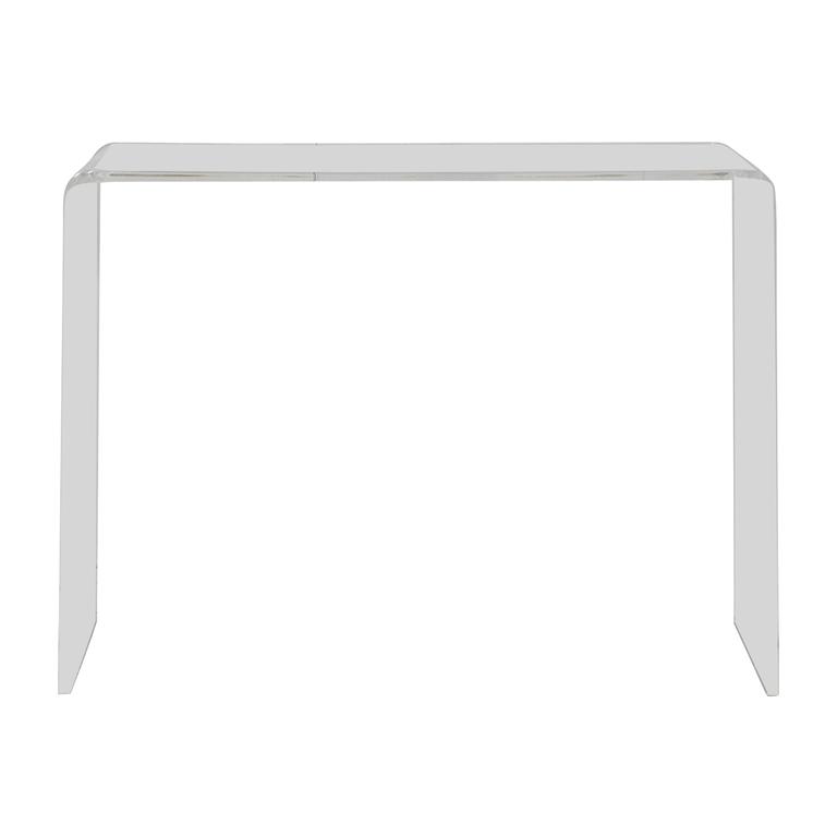 CB2 CB2 Peekaboo Acrylic Console Table nj