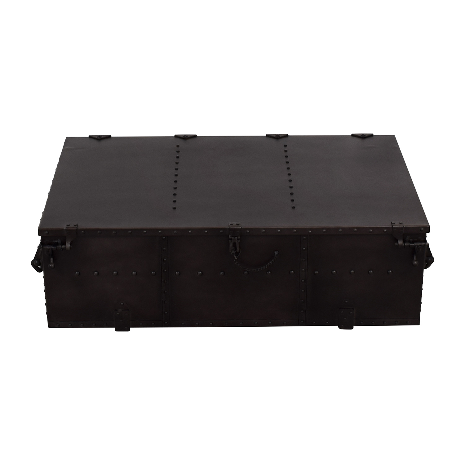 buy Restoration Hardware Voyager Trunk Coffee Table Restoration Hardware Coffee Tables