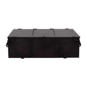 Restoration Hardware Restoration Hardware Voyager Trunk Coffee Table Tables
