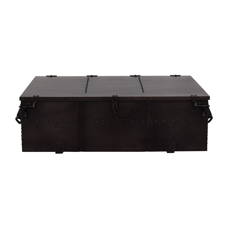 Restoration Hardware Restoration Hardware Voyager Trunk Coffee Table price