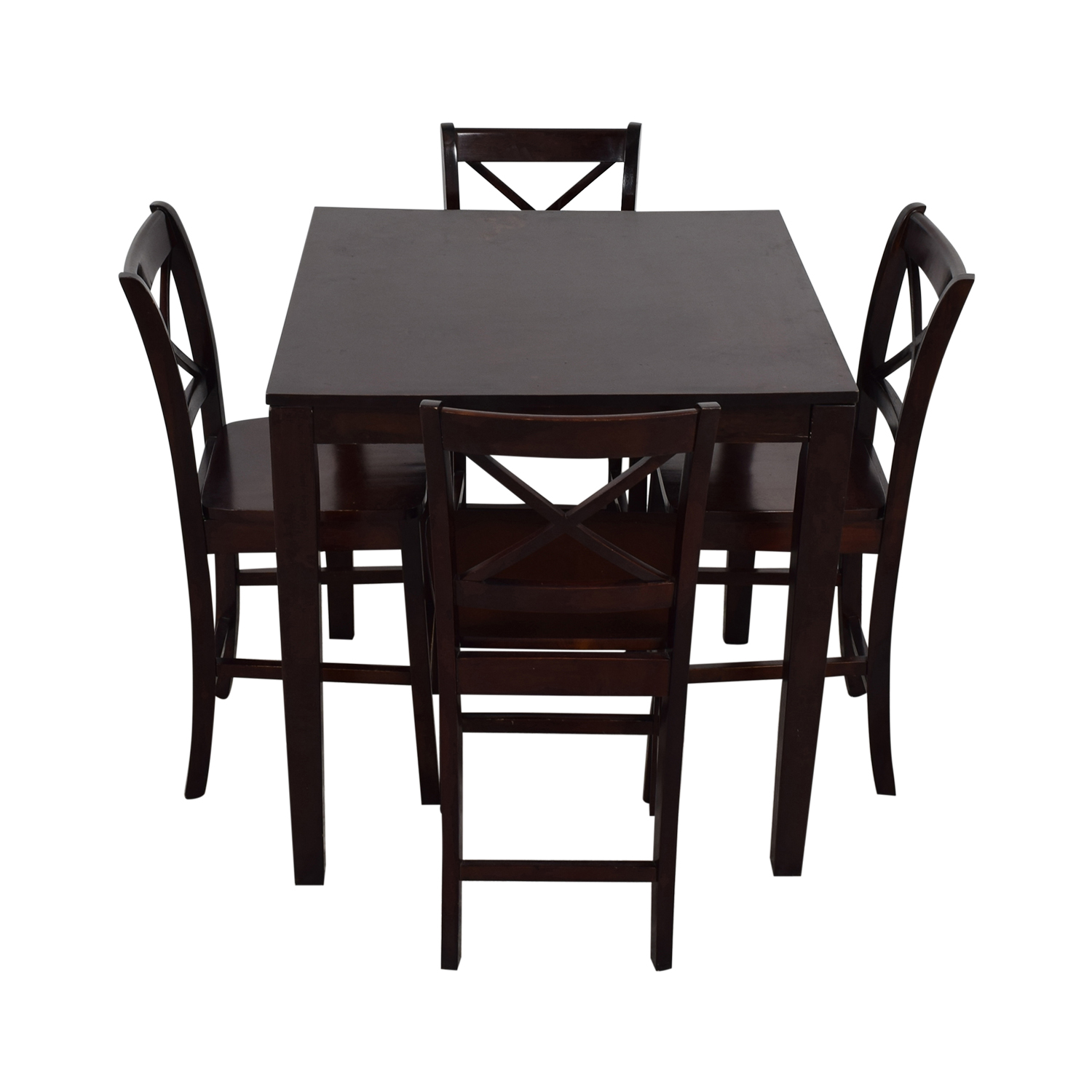 shop Counter Height Wood Dining Set