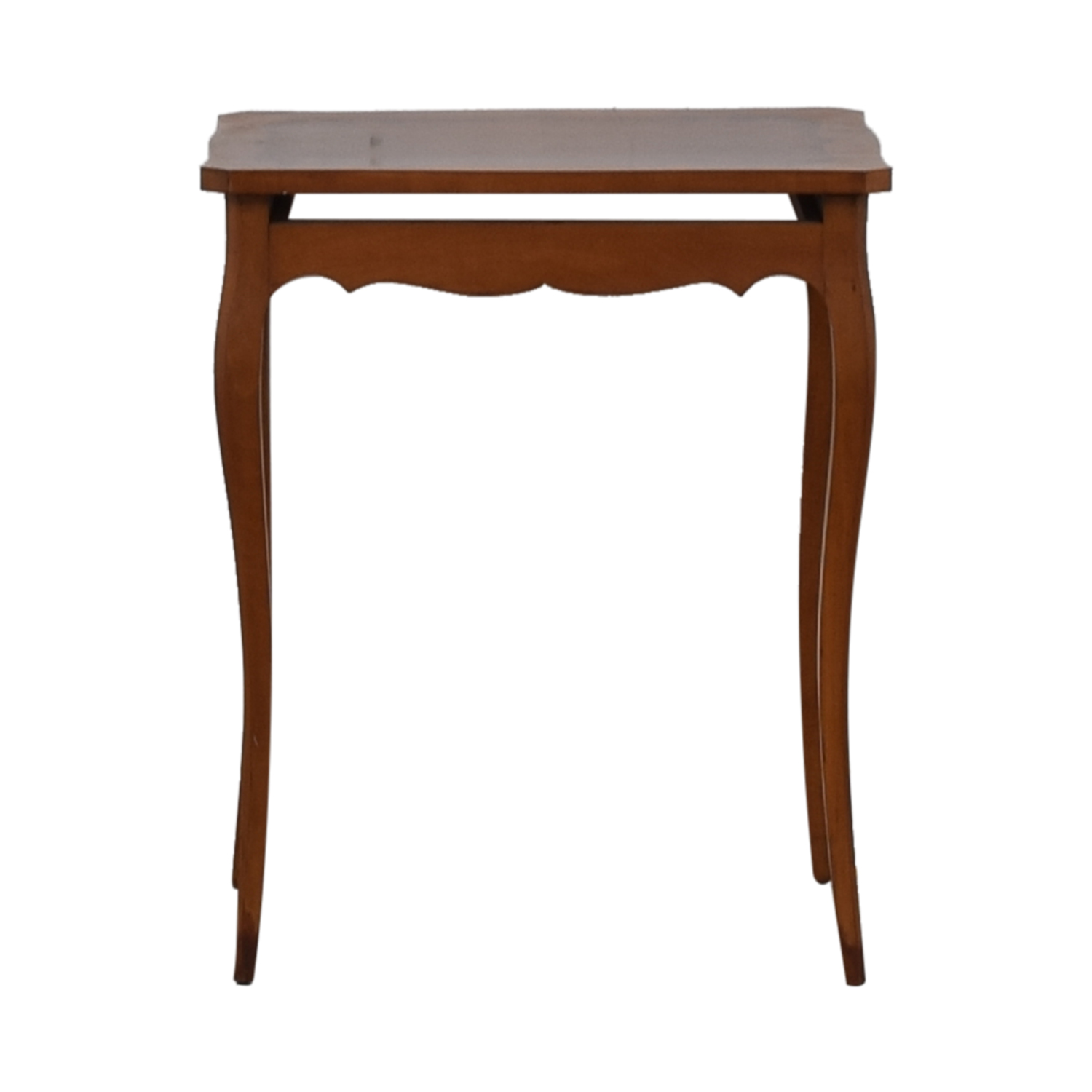 buy  Wood Dovetailed End Table online