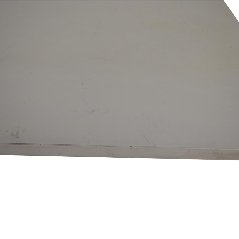 shop Crate & Barrel Crate & Barrel White Leaning Desk online