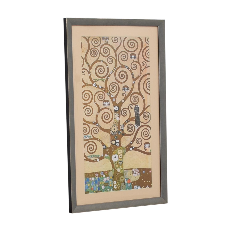 Klimt Tree of Life Framed Print Wall Art