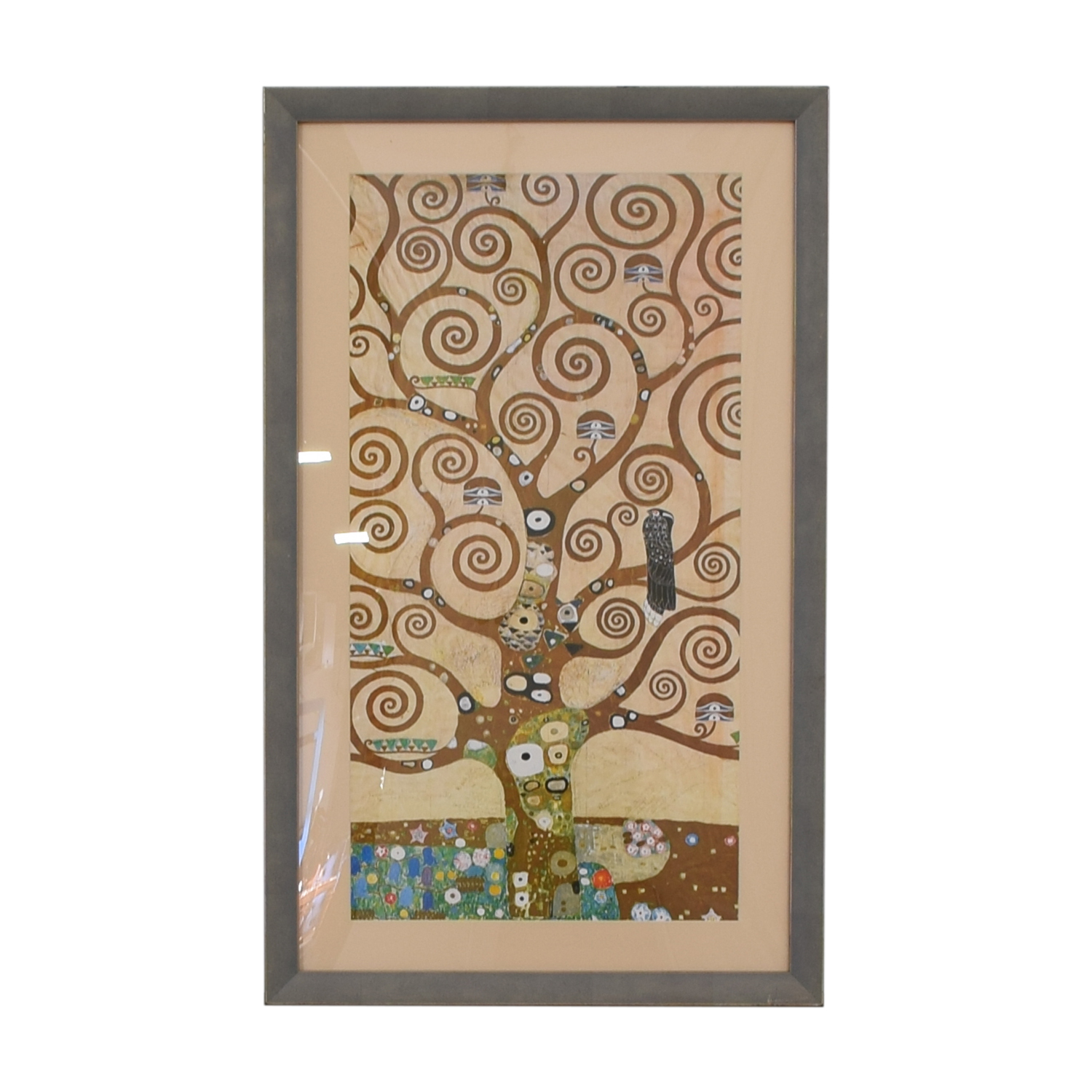 Klimt Tree of Life Framed Print / Wall Art