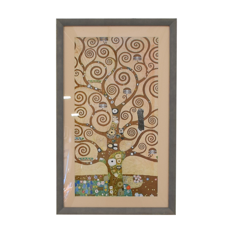 Klimt Tree of Life Framed Print price