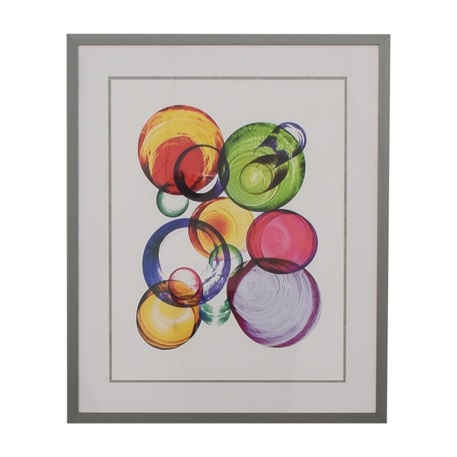 Glasses Framed Print / Wall Art