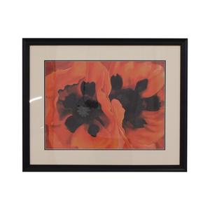 buy Georgia O'Keefe Framed Oriental Poppies  Decor