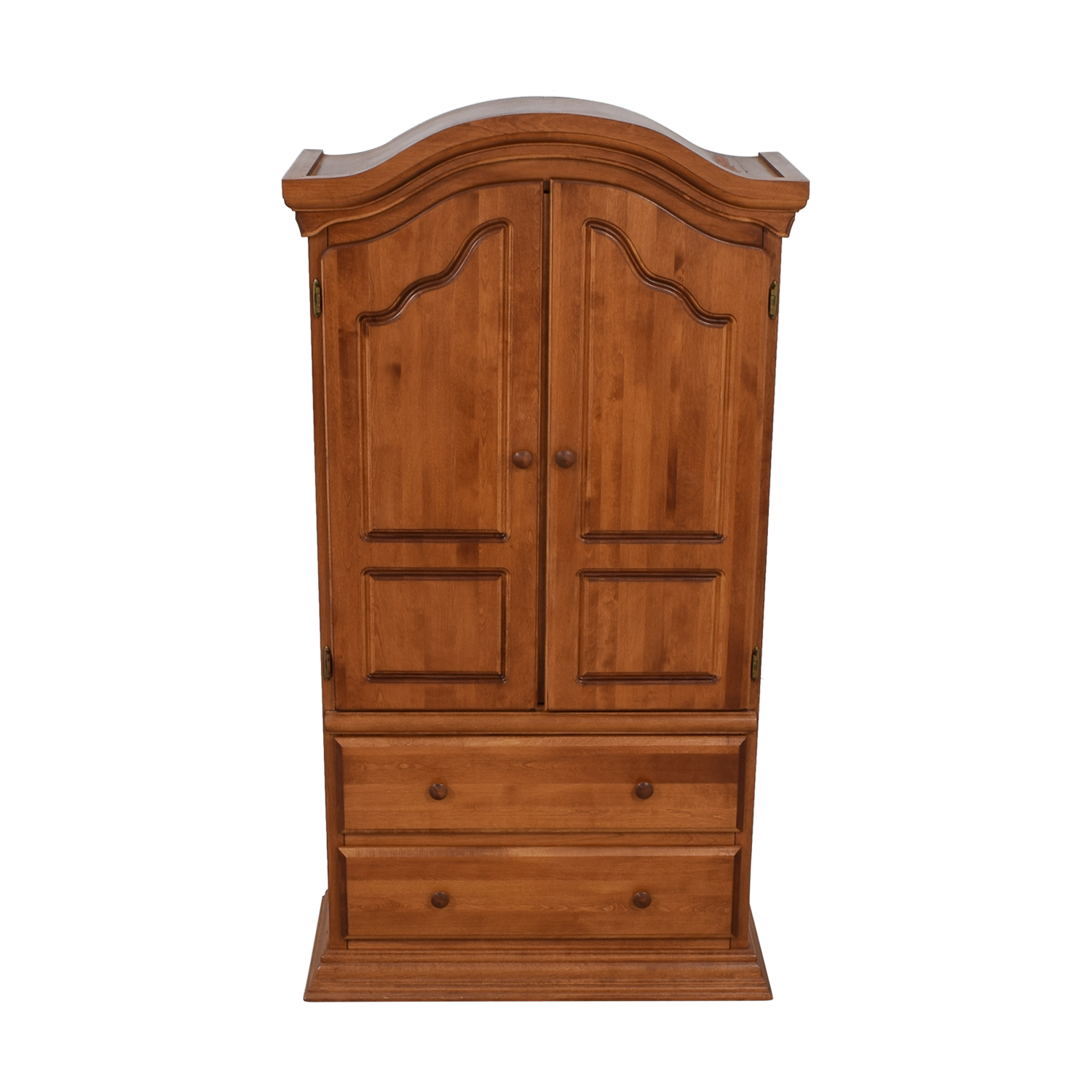 Bellini Bellini Two-Drawer Wood Clothing Armoire used