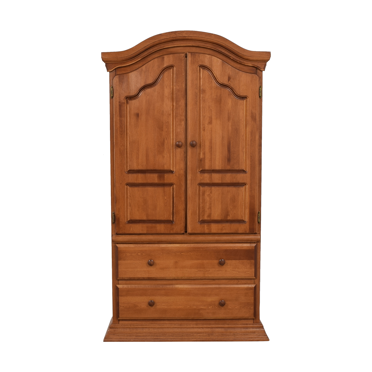 Bellini Two Drawer Wood Clothing Armoire Wardrobes Armoires