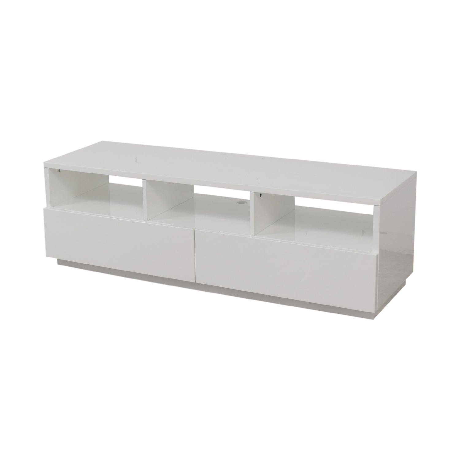 CB2 CB2 Chill White Two-Drawer Media Console price