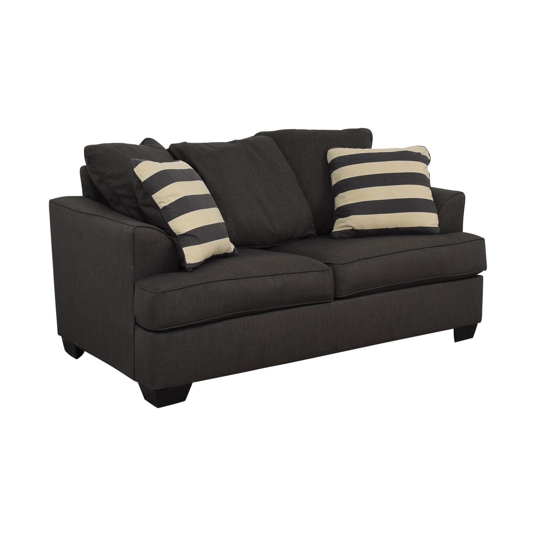Ashley Furniture Ashley Furniture Levon Charcoal Loveseat nj