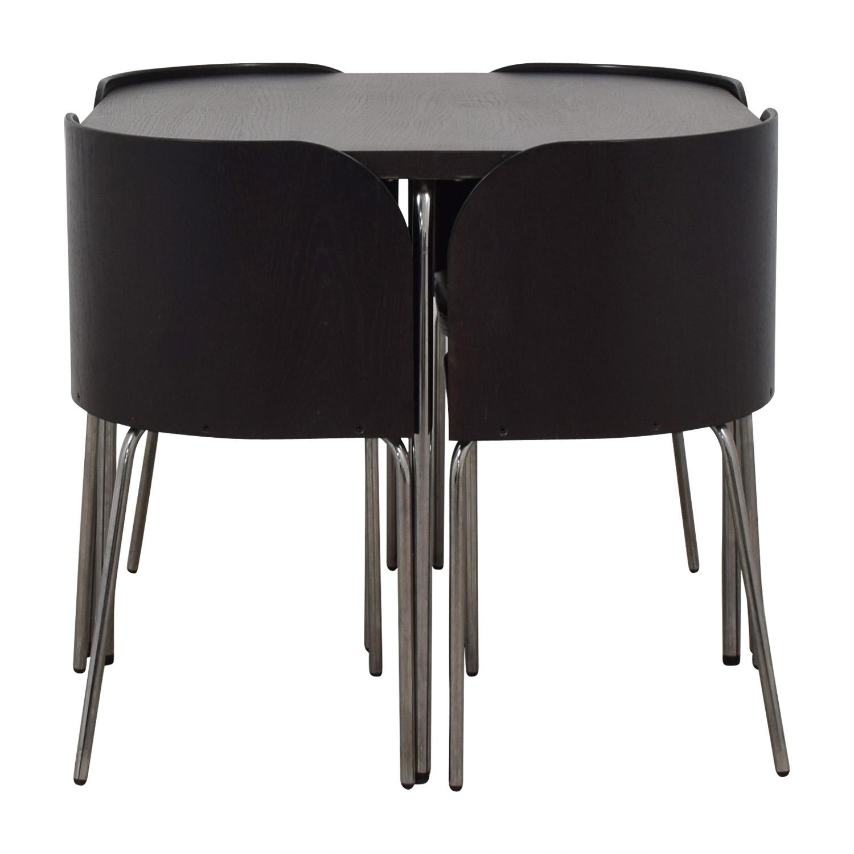 IKEA IKEA Fusion Black Dining Set on sale