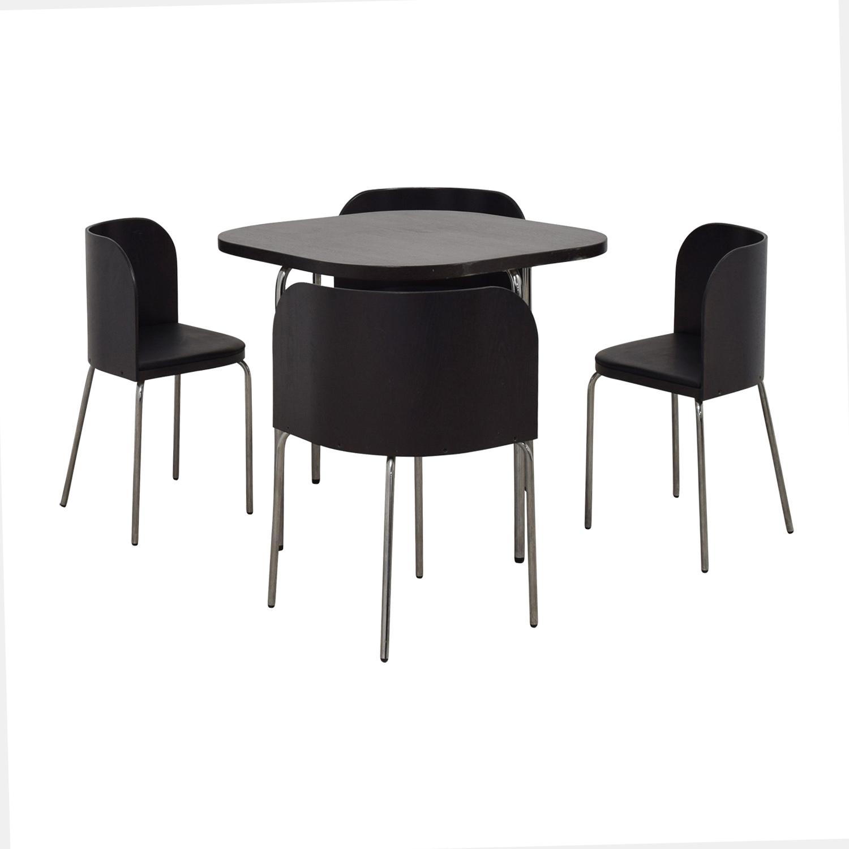 IKEA IKEA Fusion Black Dining Set dimensions