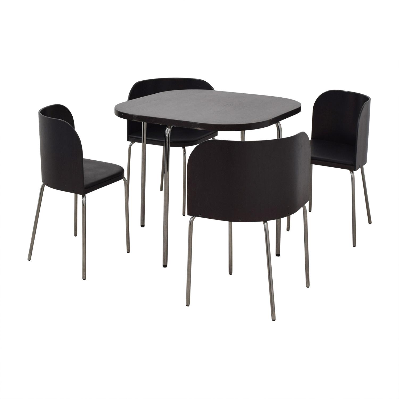 IKEA IKEA Fusion Black Dining Set nj