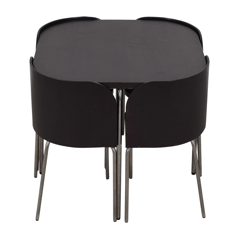 IKEA IKEA Fusion Black Dining Set black